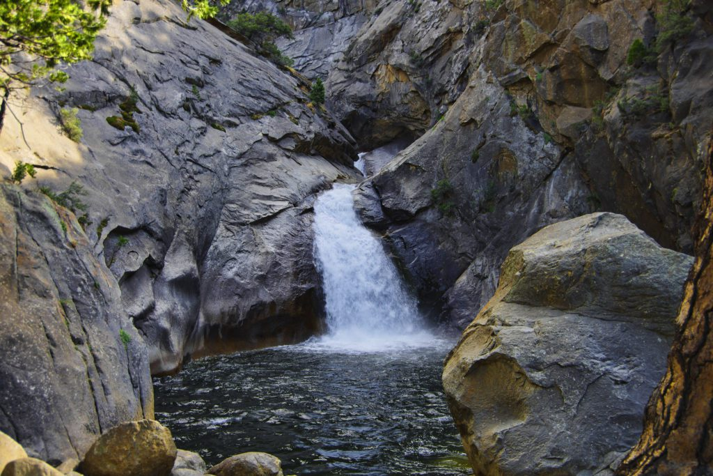 Carson Falls, Marin Municipal Water District, Marin County