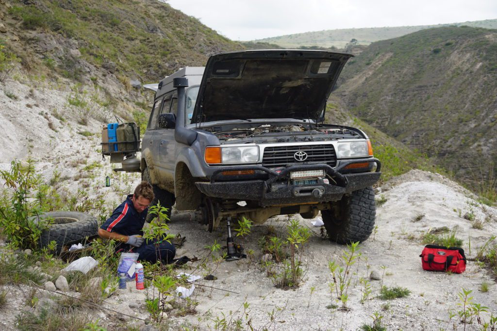 Driving Anyplace and Fixing Something in a Candy '95 Landcruiser