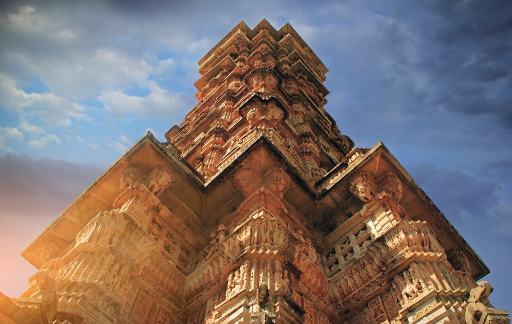 The Largest Fortress in India,Chittorgarh Fort