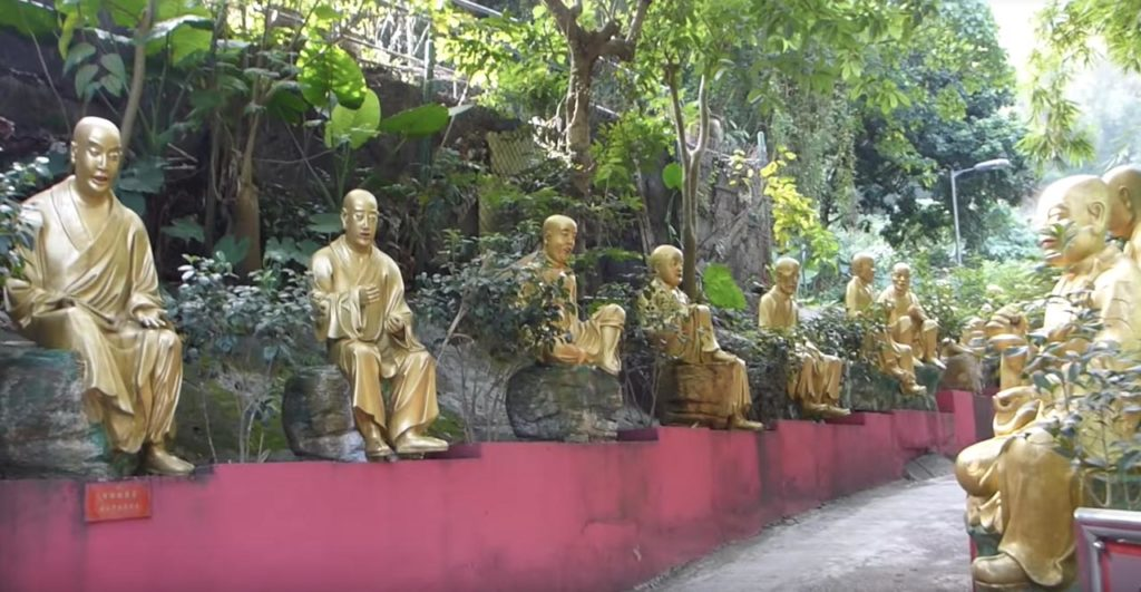 Concerning the Golden Buddhas