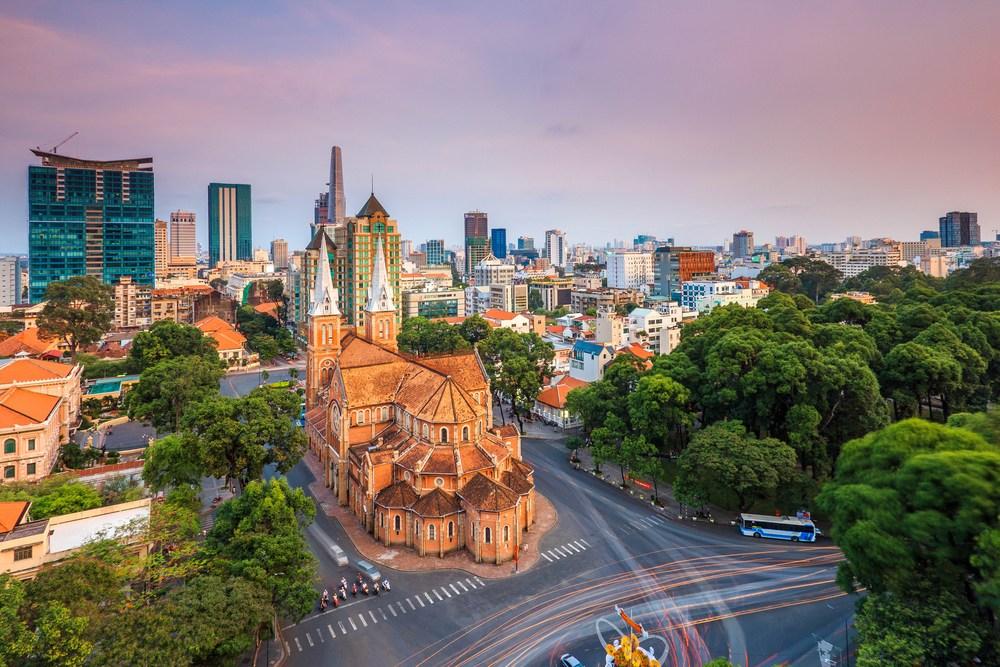 Saigon Notre Dame Cathedral Basilica