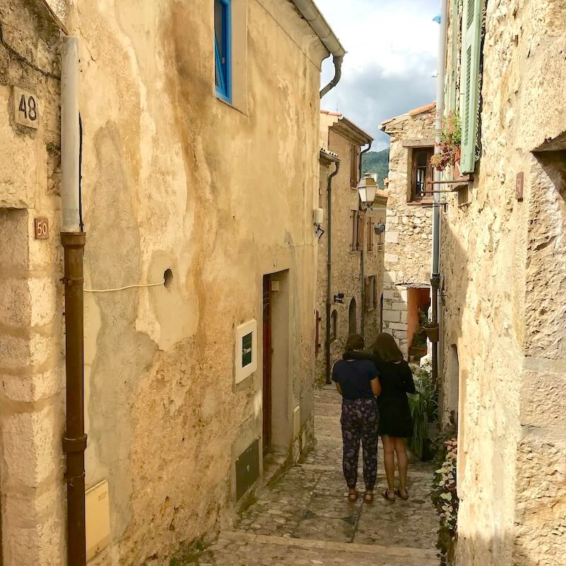Sainte Agnes – Medieval and Fortified
