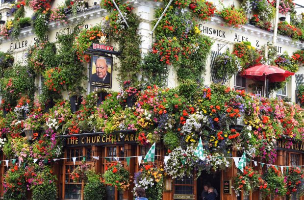 The Churchill Arms in Notting Hill