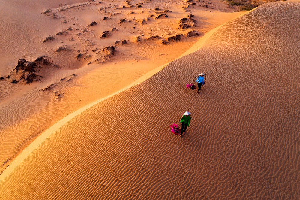 The Dunes of Mui Ne