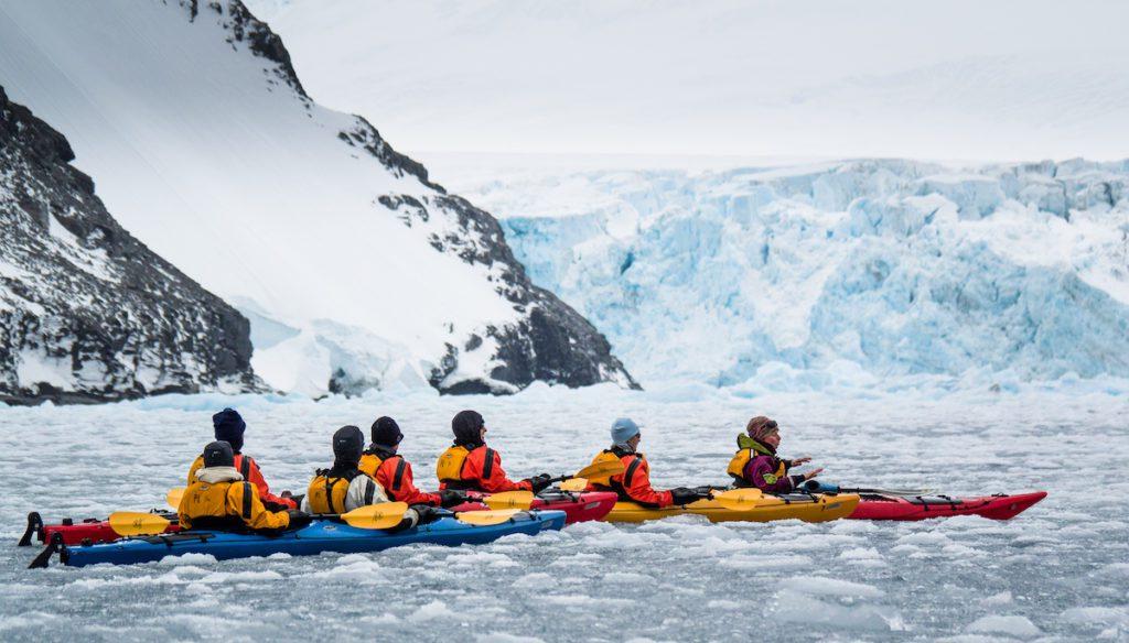 Guiding Antarctic Kayak
