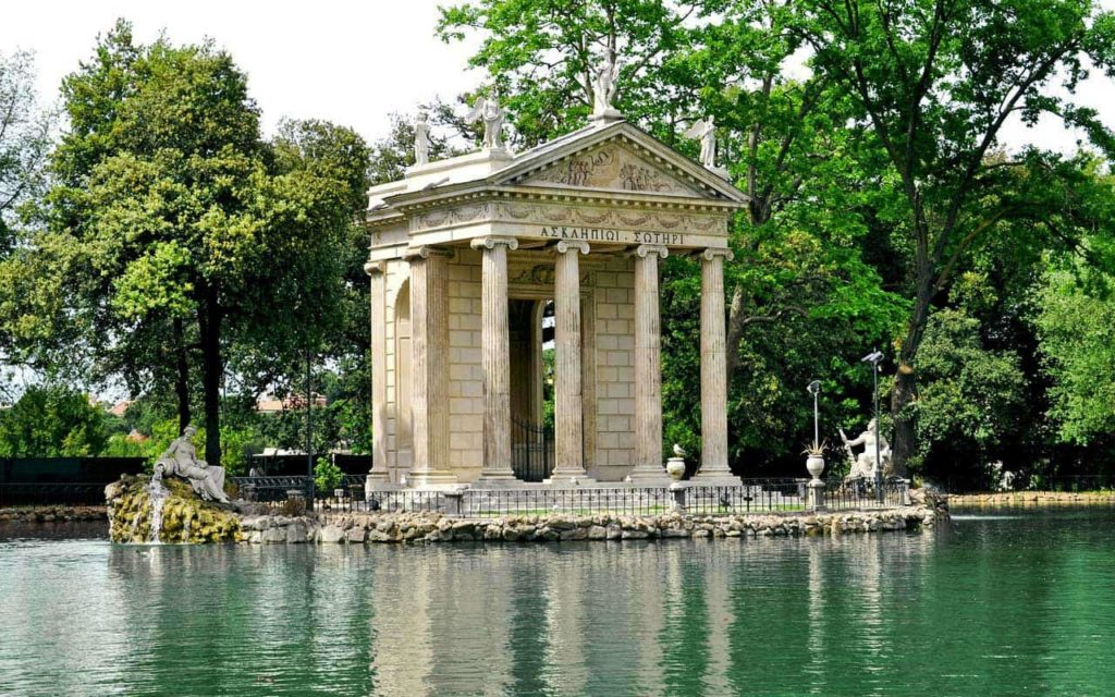 Villa Borghese Park -Rome