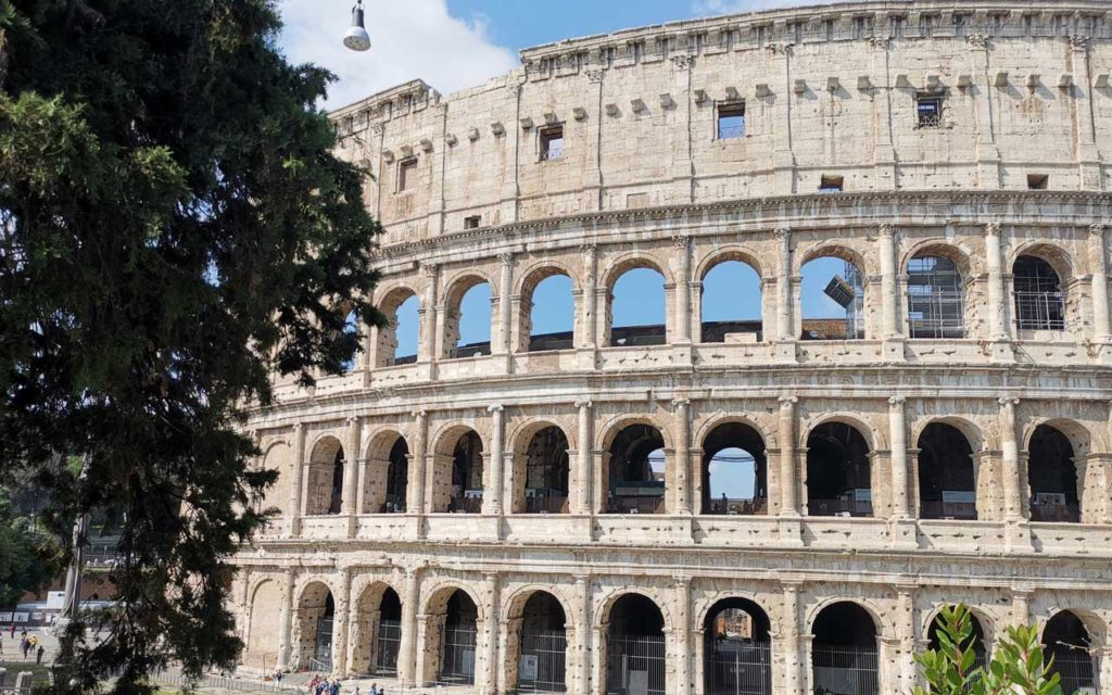 the Colosseum, Roman Discussion board and Palatine Hill