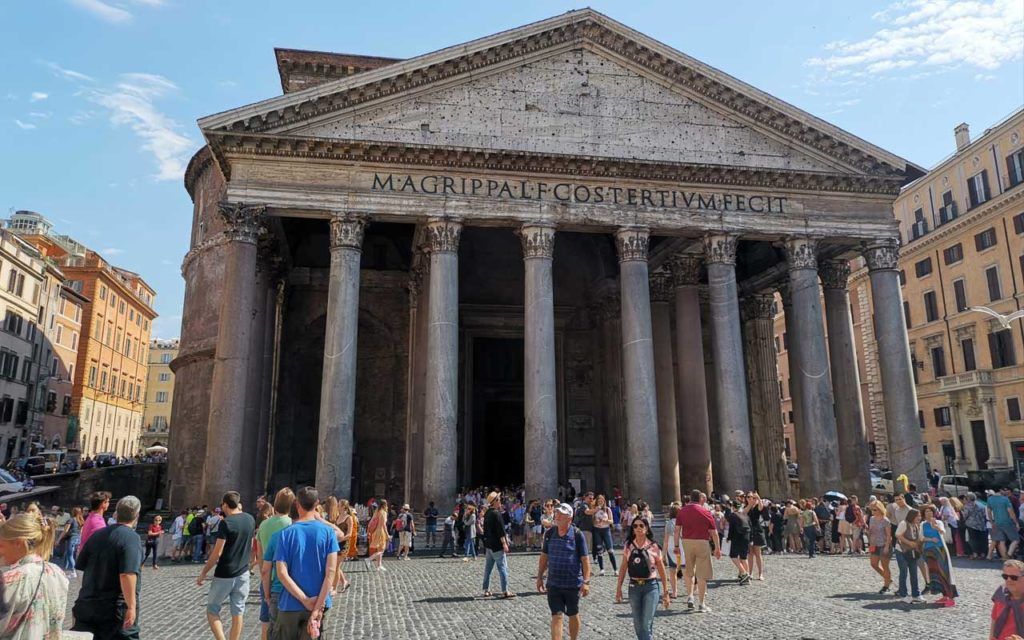 the 2000-year-old Pantheon