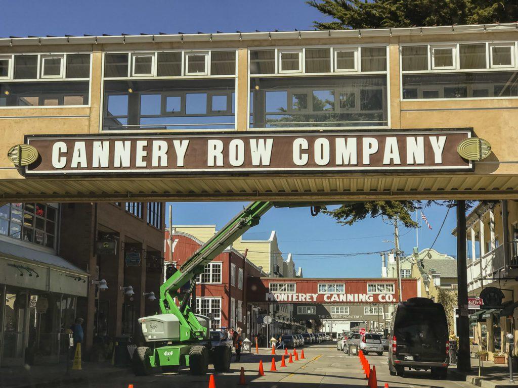 California Roat Journey Monterey
