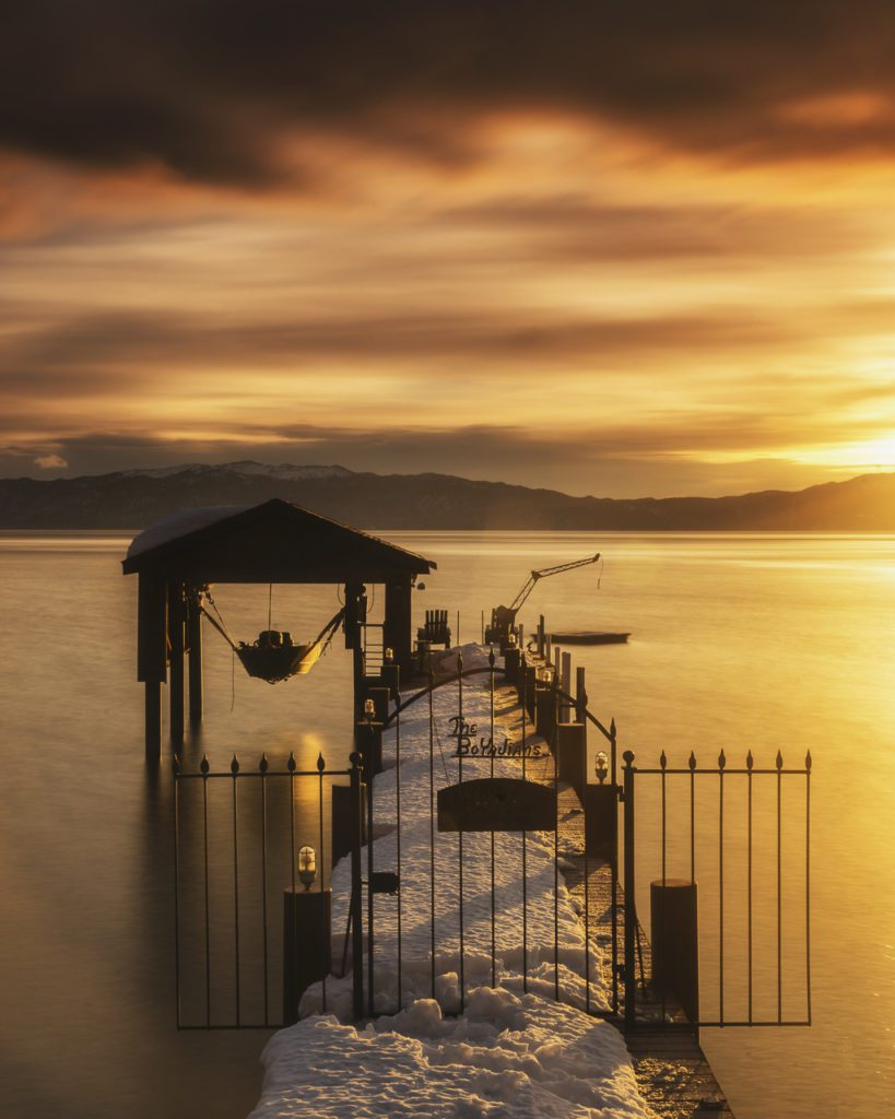 Dawn in Lake Tahoe