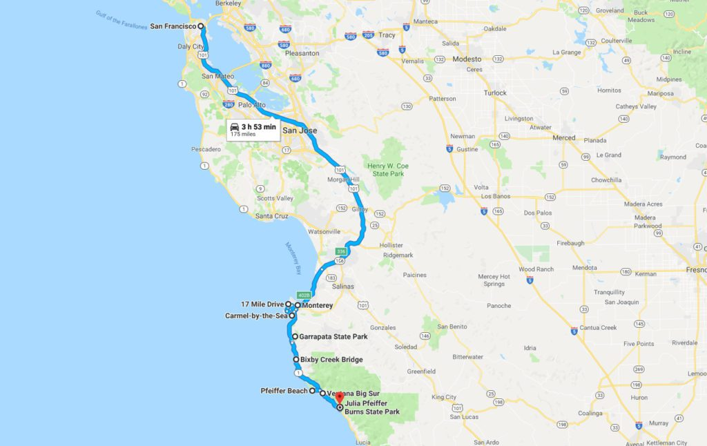 Pacific Coast Freeway