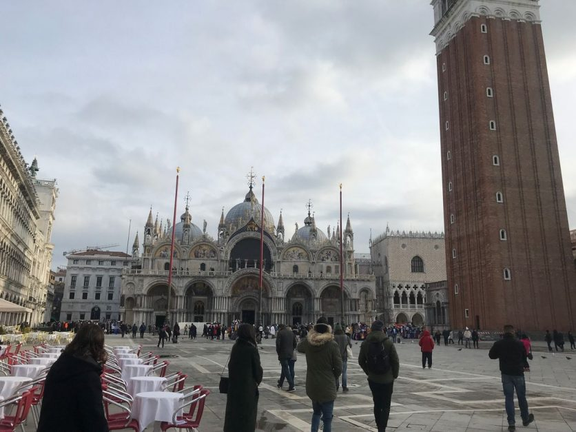 Piazza San Marco view of the Basilica