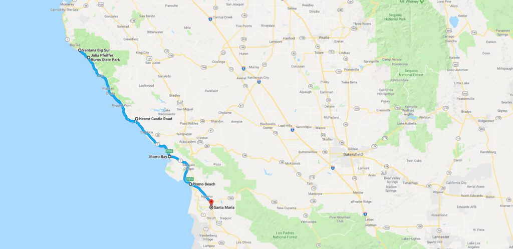 Southern California Highway Journey Concepts