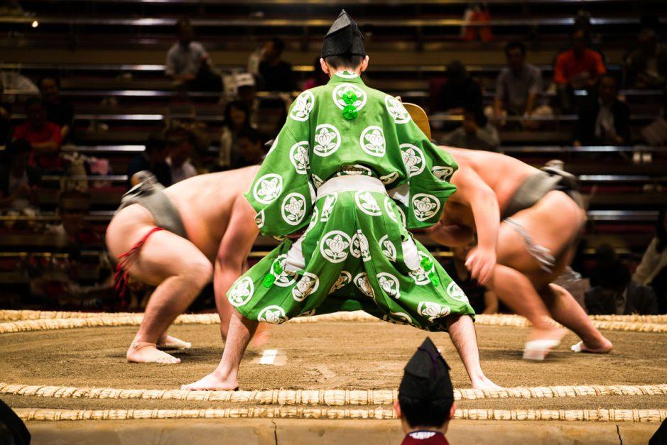 Sumo Wrestling – Ryogoku Kokugikan