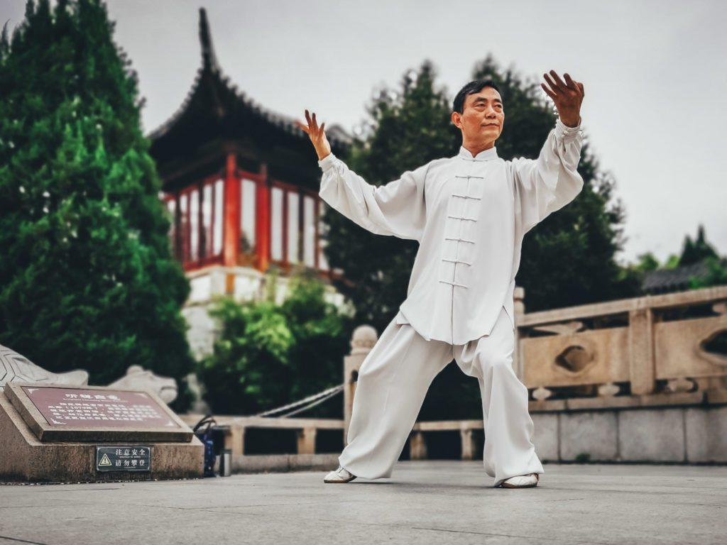 Grasp Yang Tai Chi