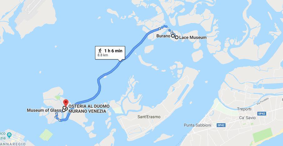 Venice Map Day Three Itinerary