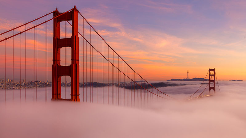 Golden Gate Bridge - Gateway to San Francisco Bay