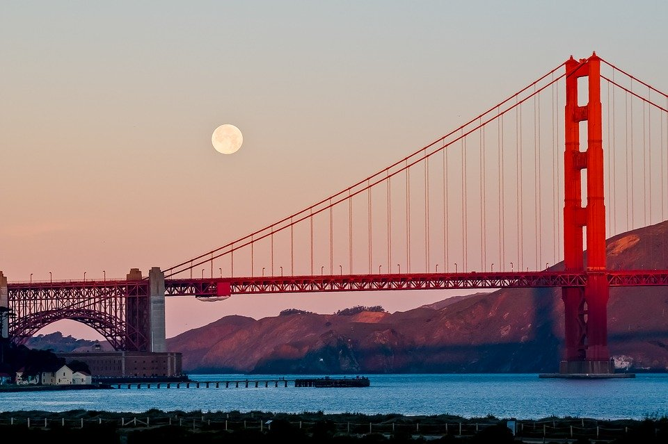 What tours to visit the Golden Gate Bridge
