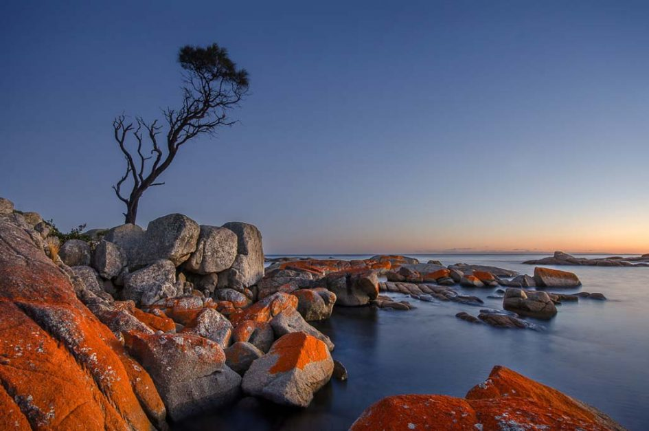 Absorb the Colors of Bay of Fires