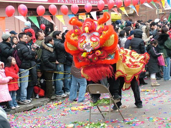 Chinese language Avenue market