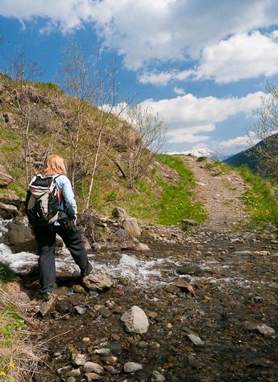 Climbing Andorra's Coma Pedrosa