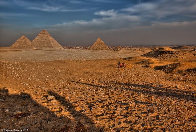 Egypt's Nice Pyramids at Giza