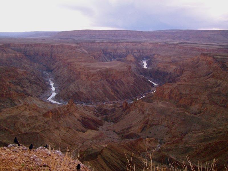 Namibia's Fish River Canyon