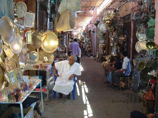 The Souks of Marrakech – Morocco