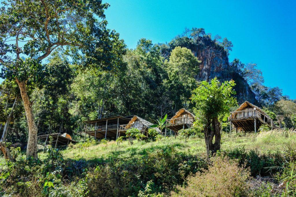 Baan Mae La Ub Lawa Hill Tribe village