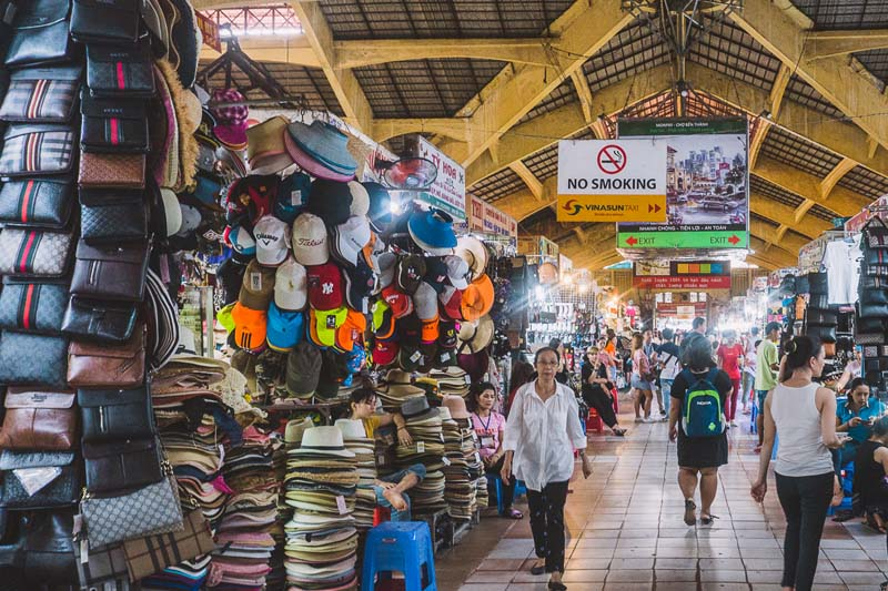 SHOP AT THE LOCAL MARKETS
