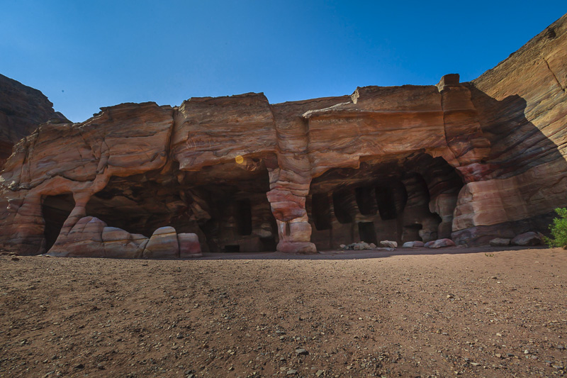 Rock Tombs in Petra