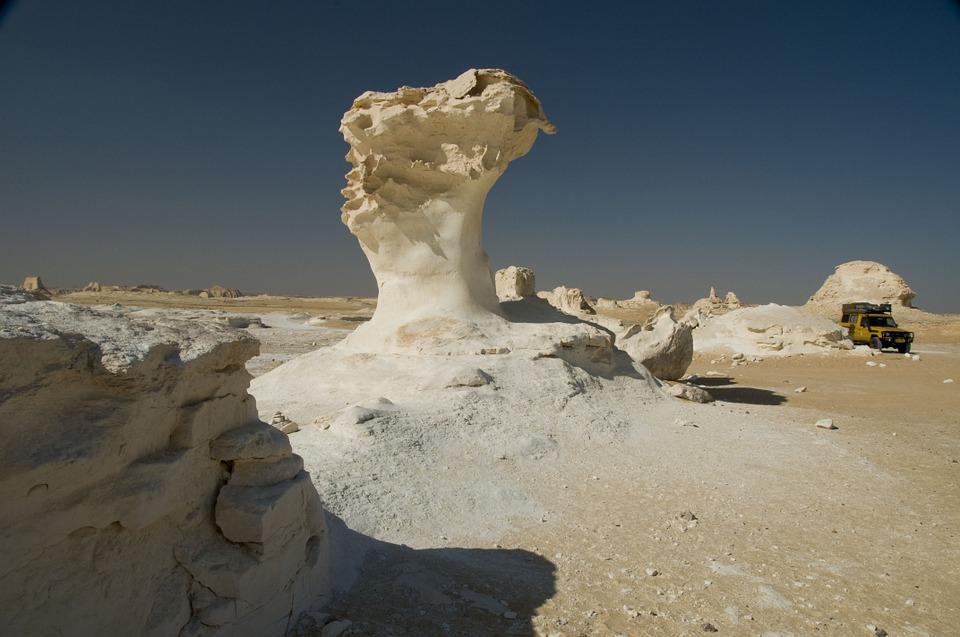 The White Desert Egypt