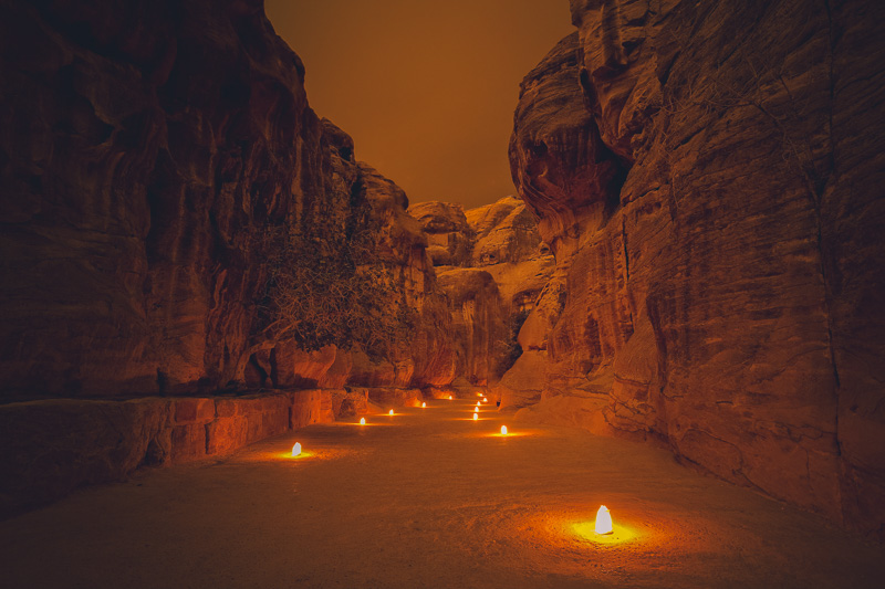 Best things to do in Petra-Efficiency of Petra at Night time