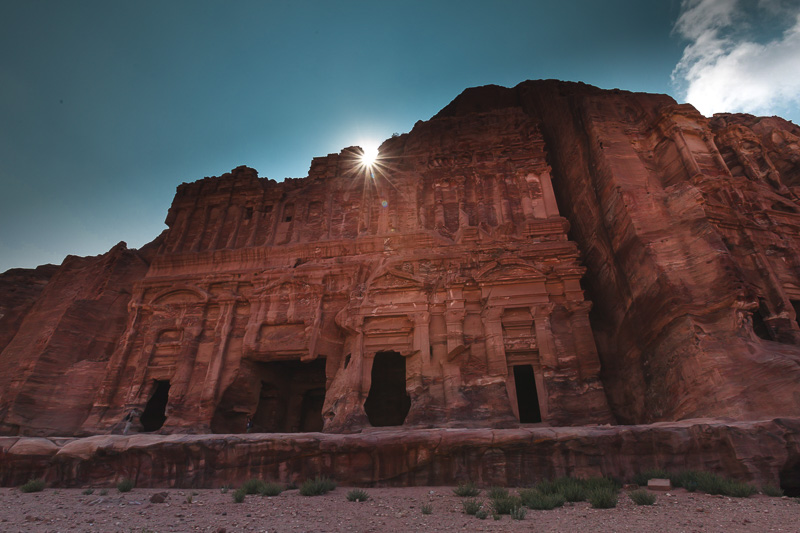things to do in-petra jordan Royal Tombs