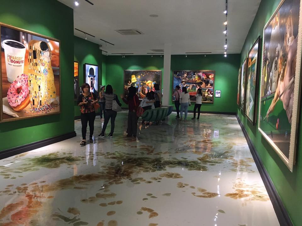 Parody Artwork Museum Pattaya Thailand