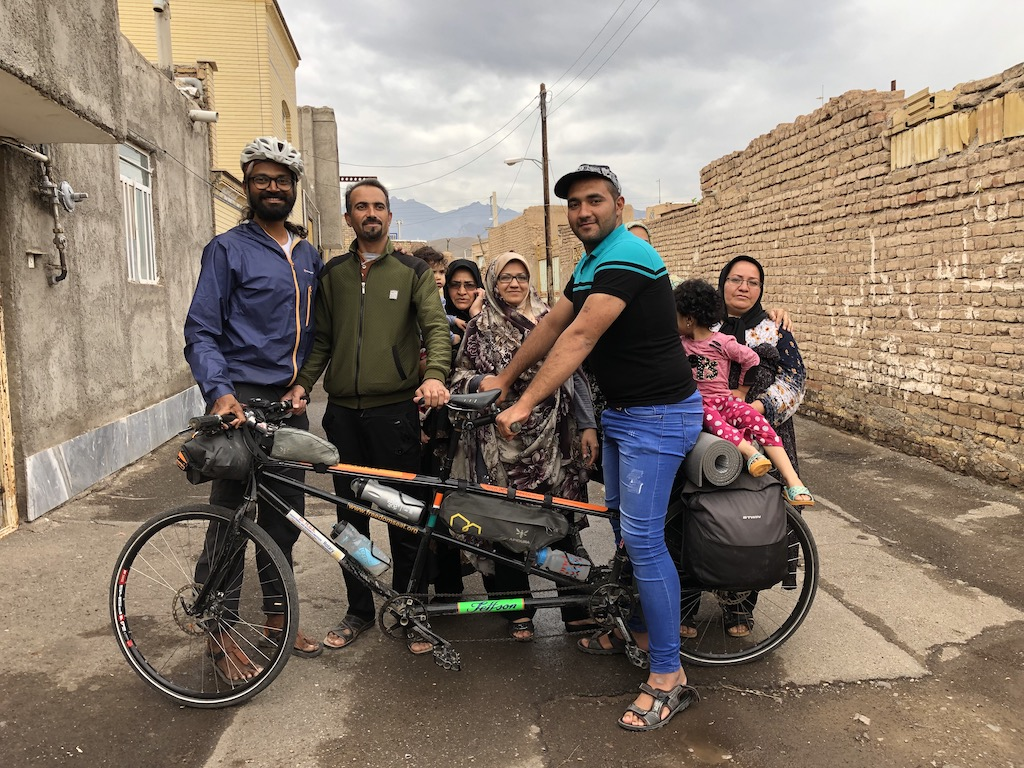 Bike From India to Germany