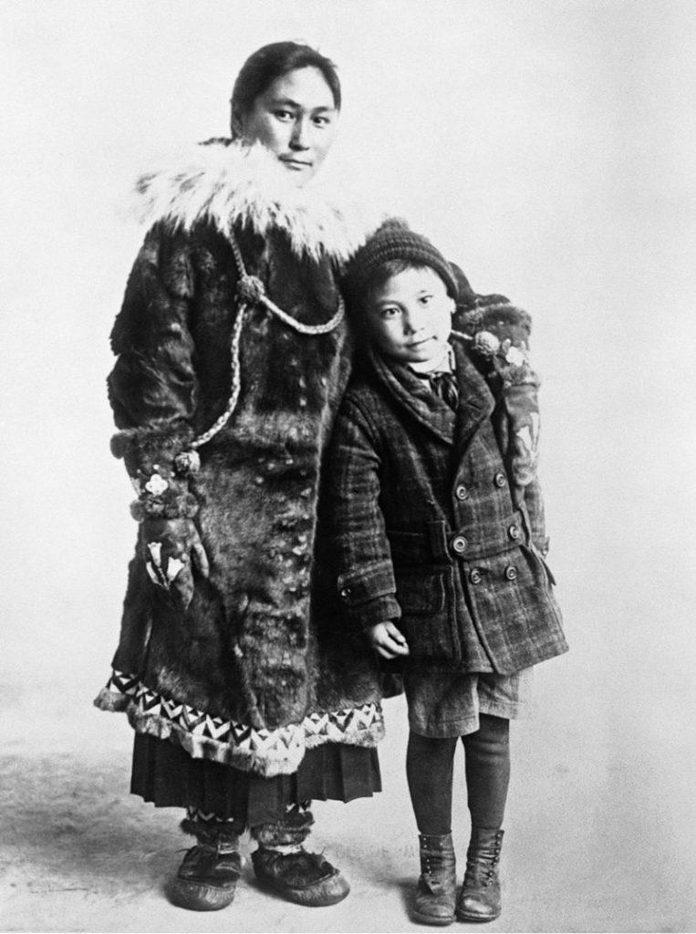 Blackjack along with her son Bennett