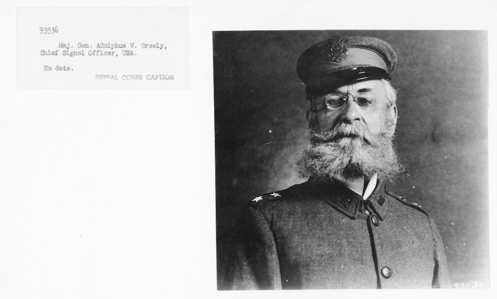Greely as Chief Sign Corps Officer