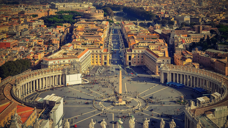 The place to Keep in Rome Italy