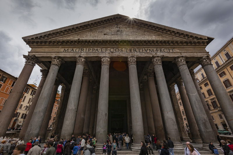 The place to remain in Rome