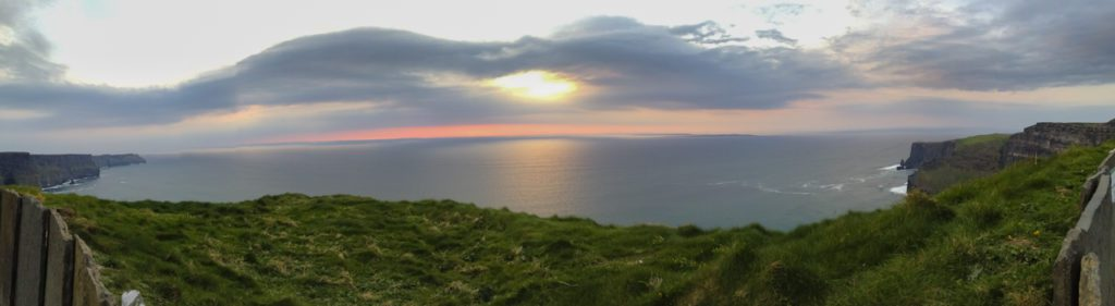 Visiting Cliffs of Moher