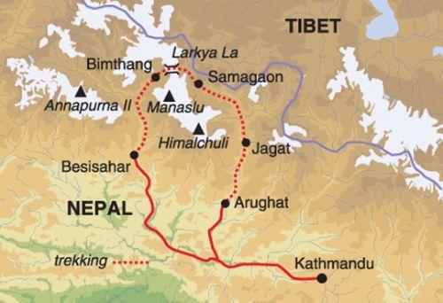 manaslu-map