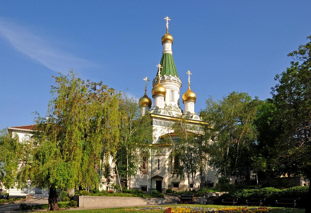 Bulgaria beauty church