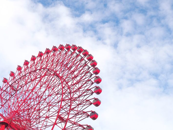 HEP 5 Ferris wheel in OSaka
