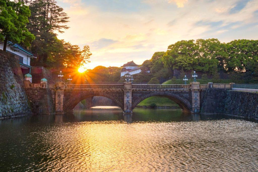 Nijubashi bridge Tokyo