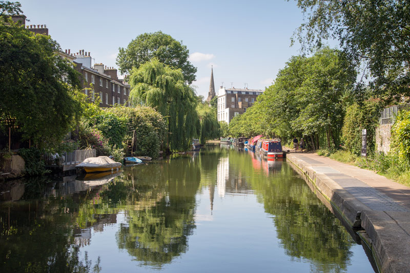 Regents Park in Camden is a good neighbourhood to stay in if you are on a budget