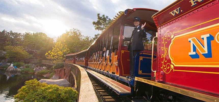 Western River Railroad Tokyo Disneyland