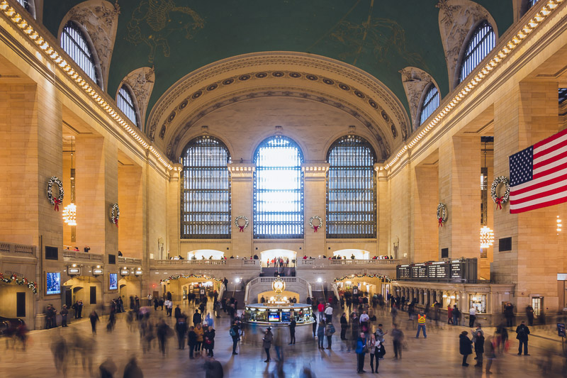 Subway to Grand Central Terminal
