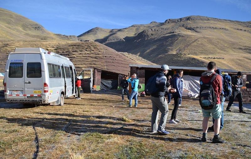 The Drive to Rainbow Mountain Peru