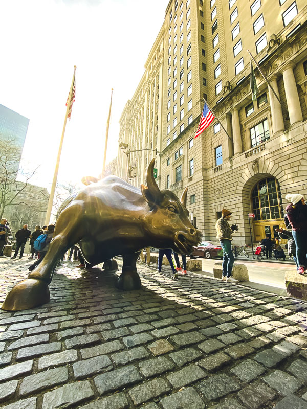the Wall Avenue Bull